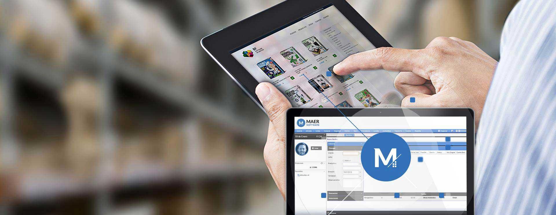 BF Software de Gestión en Tablet